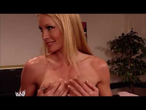 Torrie And Sable Topless Backstage 17 4 2003