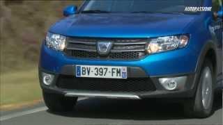 Dacia Sandero Stepway este pregatita pentru aventura