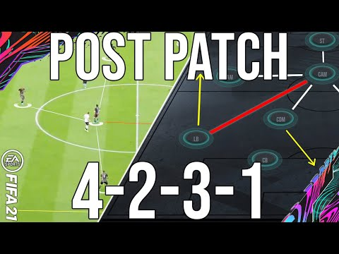 Why 4231 POST PATCH is the most META formation to give you wins (TACTICS) - FIFA 21 Ultimate Team