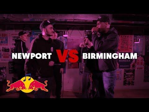 NEWPORT VS BIRMINGHAM | GRIME-A-SIDE 2017: QUARTER FINAL @RedBull_Music