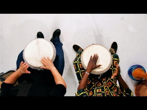 Play the Djembe Kuku Rhythms Combined | African Drums