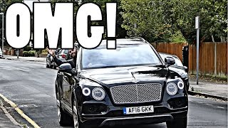 THE AMAZING BENTLEY BENTAYGA TAXI RIDE!! by Supercars of London