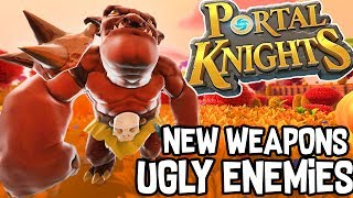 CRAFTING NEW WEAPONS + UGLY ENEMIES!! - PORTAL KNIGHTS! #2 |Gameplay|