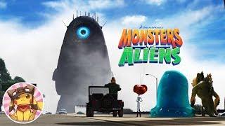MONSTERS vs ALIENS Full Movie Game Walkthrough [1080p] No commentary