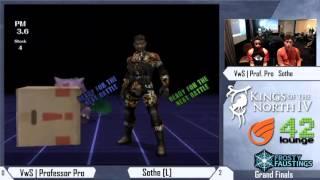 Kings Of The North IV – VwS | Professor Pro (Snake) vs Sothe (Ivysaur) – Grand Finals