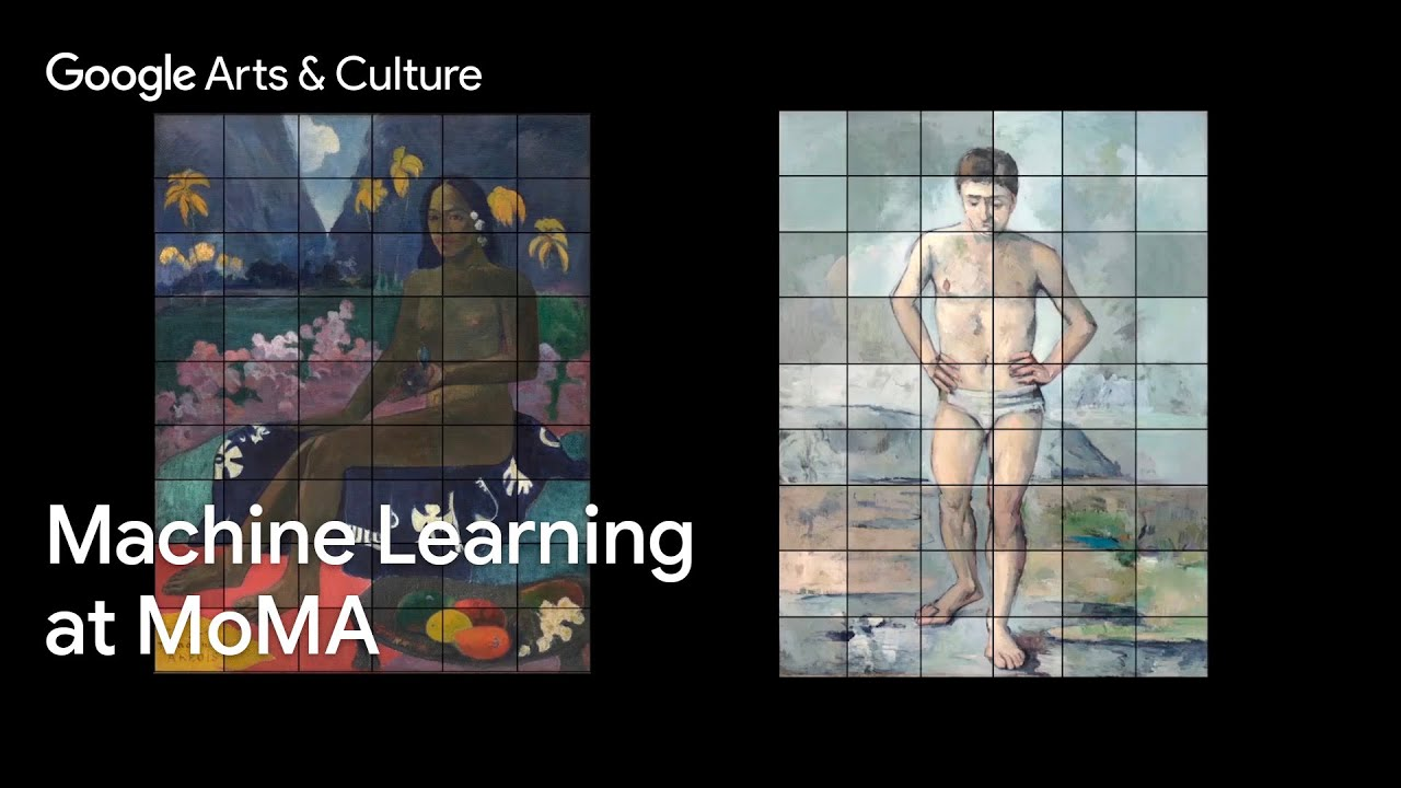 Identifying art through machine learning with the MoMA #GoogleArts