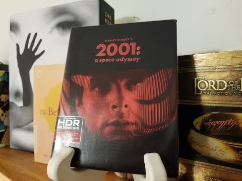 2001: A SPACE ODYSSEY 4K Blu-Ray Unboxing!