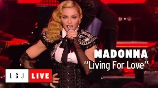 Madonna - Living For Love - Live Du Grand Journal