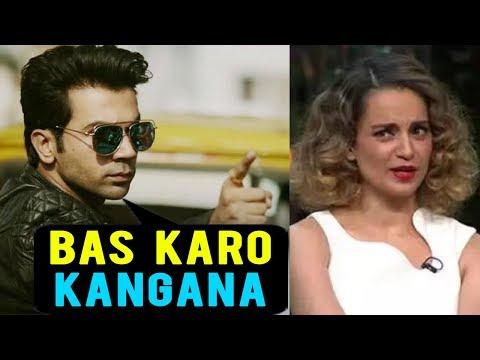 Kangana Ranaut UGLY FIGHT With Rajkummar Rao