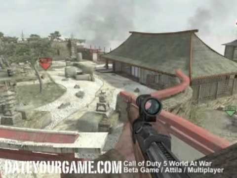 cod5 - Want more? Visit: http://dateyourgame.com/call-of-duty-world-at-war/ This is a video of me playing in Call of Duty 5 - World at War in Multiplayer. This vide...