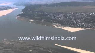 Download Lagu Mighty Brahmaputra river seen aerially Mp3