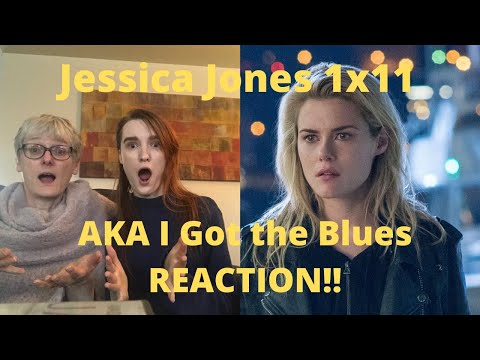 "Jessica Jones Season1 Episode 11 ""AKA I Got the Blues"" REACTION!!"