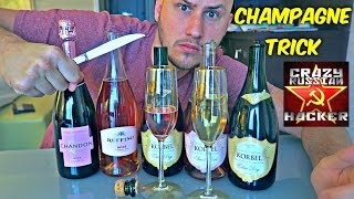 How to Saber Open Champagne?