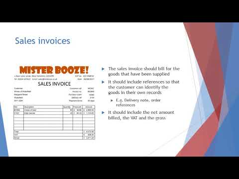 Sales and purchase documentation