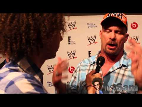 0 Steve Austin Talks Return Match at WrestleMania; Also Praises WWE Group