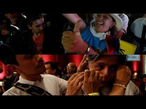 «Όχι» των Κολομβιανών στη συμφωνία ειρήνης με τους αντάρτες FARC
