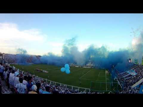 Recibimiento Atletico - Juniors (COL) Copa Libertadores 2017 - La Inimitable - Atlético Tucumán