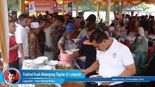 Festival Kuah Beulangong Digelar di Lampuuk