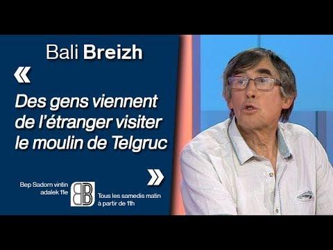 Yann-Ber Kemener : «Des gens viennent de l'étranger visiter le moulin de Telgruc »