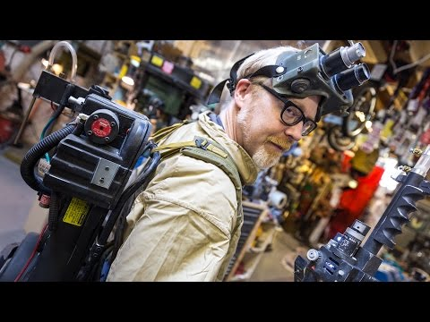 Adam Savage's Ghostbusters Costume