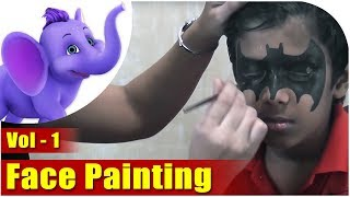 Learn How To Do Face Painting - Vol 1