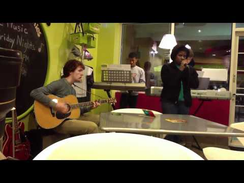 Wattlepwn - The Frame in March 2012 at Menchies Yogurt featuring guest guitarist Logan Brammer.