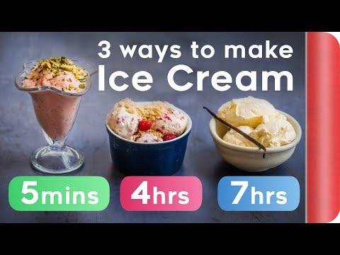3 Ice Cream Recipes COMPARED (5 mins vs 4 hours vs 7 hours)