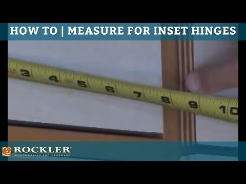 BLUM - Measuring for Inset Applications 1