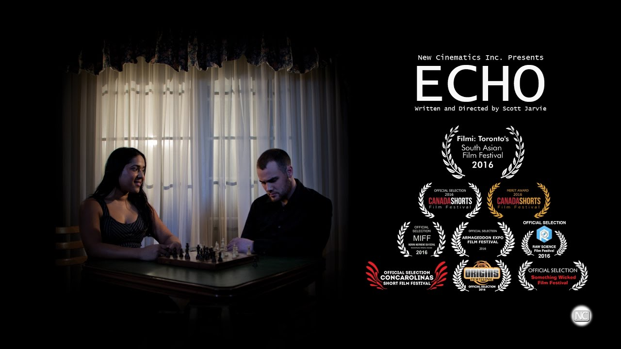 Short Film ECHO's Poster Frame.