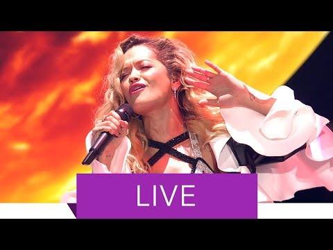 Rita Ora megamix (élőben)