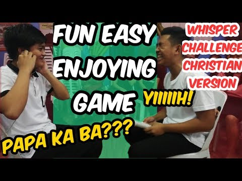 Whisper Challenge (Christian Version) | FUN,EASY, ENJOYING, |  Youth Games | Church Games