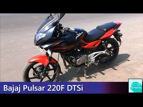 Video 2016 Bajaj Pulsar 220F DTSi Walkaround, Engine Sound and Motion | carnama download in MP3, 3GP, MP4, WEBM, AVI, FLV January 2017