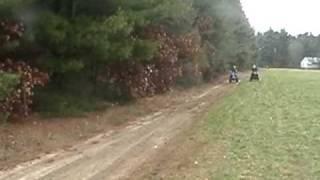 8. 2001 Honda 300ex vs. 2003 Yamaha Blaster 200 vs. TTR125 Drag Racing
