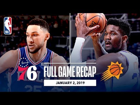 Video: Full Game Recap: 76ers vs Suns | Embiid Drops 42 & 18