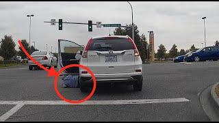 Kobieta, która została przejechana przez własny samochód na skrzyżowaniu…