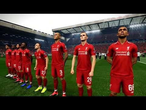 PES 2019 Realistic Highlights: Liverpool Vs Bayern Munich | UEFA Champions League 2019
