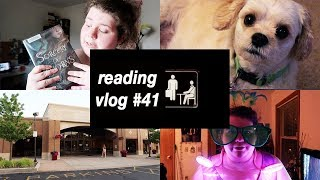 vlogging like i'm a character on the office | reading vlog #41