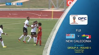 OFC TV Production - Copyright OFC TV © June 2017. Trailing by two goals after just 25 minutes, Fiji have fought back to draw 2-2 with New Caledonia in the first ...