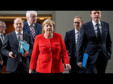 Bundeskanzlerin Merkel stellt Wohngipfel-Ergebnisse v ...