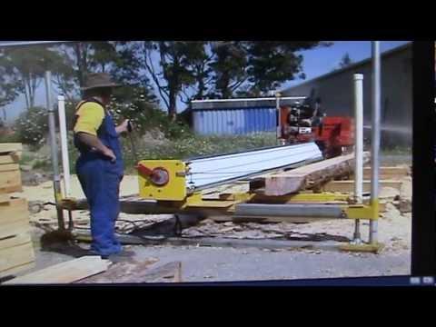Serraria movel Sawmills MAHOE - NZ