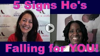 """What are the signs a man is falling in love with you? Find out the 5 signs a man is falling for you from Tinzley Bradford, Author of """"The Settle Free Dating Method for Women""""3 Secrets Guaranteed to Attract Any Man!Get the Free Report Now!http://www.singleinstilettos.com/m-3-secrets-attract-man-ytGet dating tips for women over 40 & dating advice for women from a top dating coach for women over 40 & 50.Suzanne Oshima, Matchmaker & Dating Coach at Dream Bachelor & Bachelorette & the Founder of Single in Stilettos (http://www.singleinstilettos.com) interviews Tinzley Bradford, Dating Coach.Dating Coach for women in their 40's Dating Coach for women in their 50'sSuzanne Oshima is a Matchmaker & Dating Coach at Dream Bachelor & Bachelorette: http://www.dreambachelor.comStay tuned for the next Single in Stilettos Weekly Show and get the best dating advice & dating tips!Sponsored by CupidsPulse http://www.cupidspulse.comDating advice for women over 40. Dating advice for women over 50.Get the best dating advice for women over 40 from Tinzley Bradford, Dating Coach."""