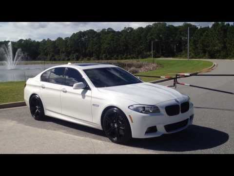 2013 BMW 535i M Sport w/Matte black M5 wheels(HD)