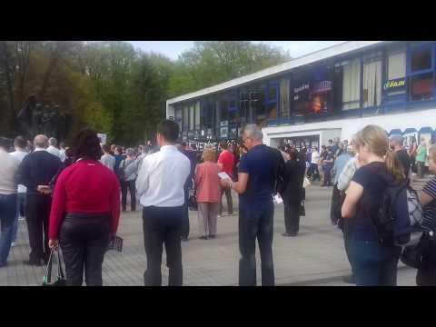 V Humennom sa konal ďalší protest: VIDEO z miesta zhromaždenia