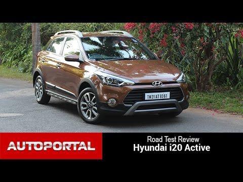 Hyundai i20 Active Test Drive Review – Autoportal