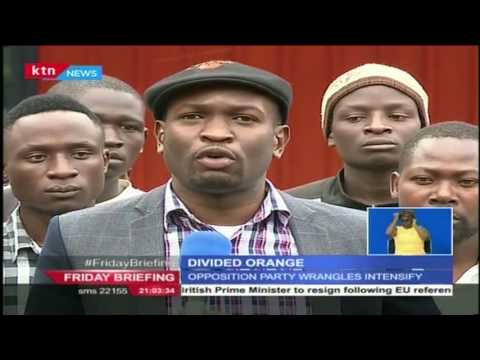 Sifuna's plans to oust Ababu Namwamba as ODM Secretary General fails