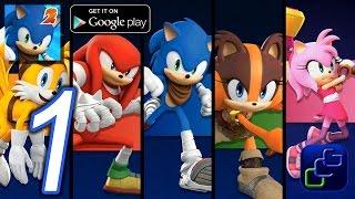 Sonic Dash 2: Sonic Boom Gameplay
