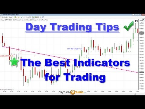 Day Trading Tips – The Best Indicators for Day-Trading