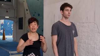 Body care with Rie: Pectoralis Major by Arch Climbing