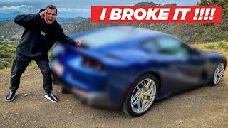 I BROKE MY NEW FERRARI!!! by Vehicle Virgins