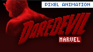 Daredevil Netflix Pixel Intro (Demolidor 8bit) - YouTube